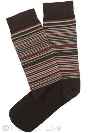 Rubber Bands Pattern socks