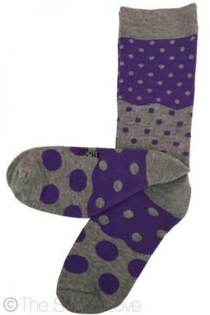 Floppy Dotty Pattern socks