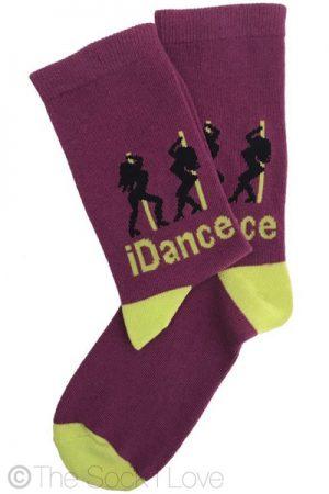 Pole Dancing Novelty socks