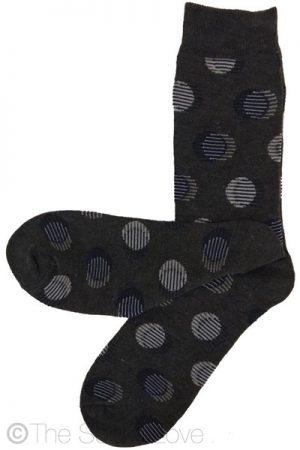 Moonwalk Pattern socks