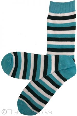 Cloudy Sky Pattern socks