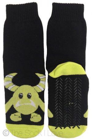 Green Monster Non Slip socks