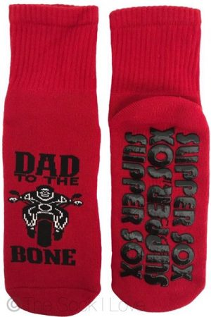 Dad To The Bone Non Slip socks