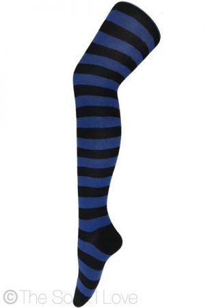 Deep Sea Thigh High socks