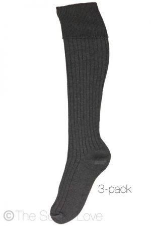 Grey School socks