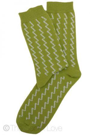 Zig Zag Pattern socks