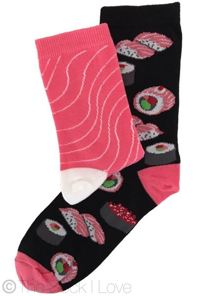 Sushi socks (2 pairs)
