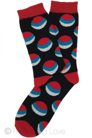 Sea Sunset Pattern socks