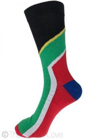 South Africa Flag socks
