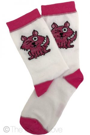 Winking Cat socks