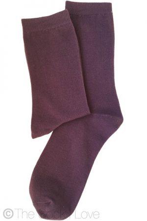 Plum Purple socks