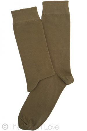 Khaki Green socks