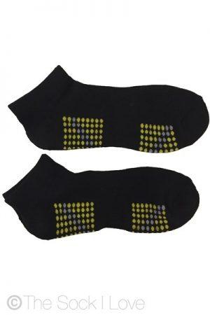 Low Cut Raving Black socks (2 pairs)