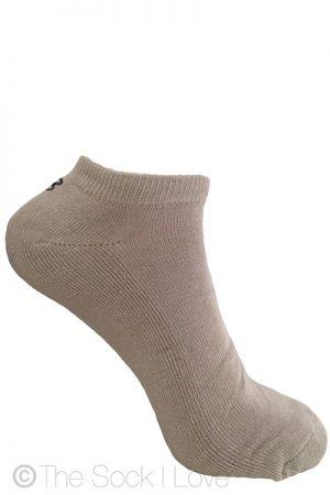 Low Cut Beige socks