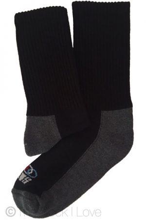 Grey Hiking Boot socks