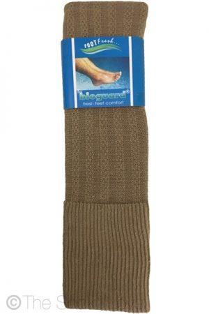 Khaki Brown Golfhose socks