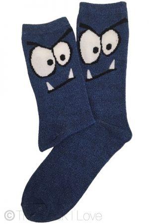 Blue Monster socks