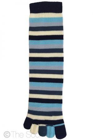 Blue Ocean Toe socks