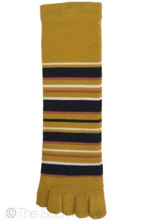 Mustard Toe socks