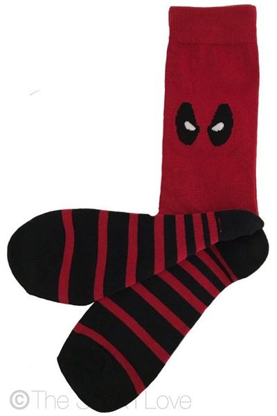 Deadpool Superhero socks