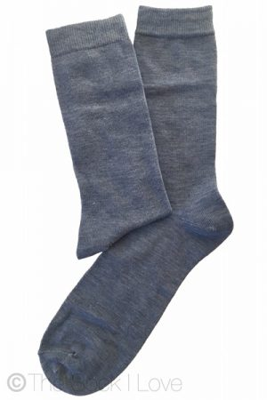 Light Denim Blue socks