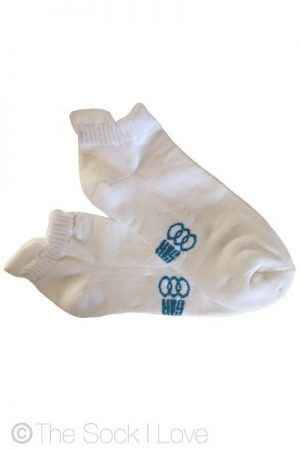 Ankle White Cushion socks