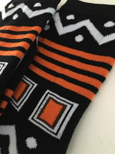 African Square socks