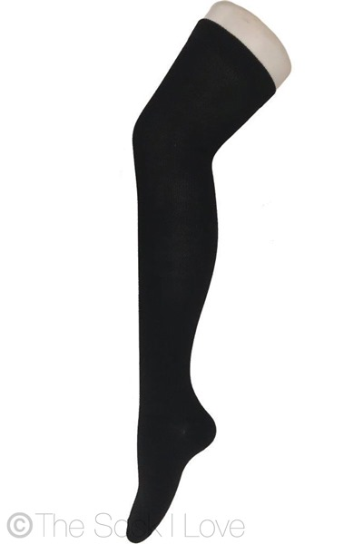 Black Thigh High socks