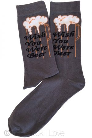 Beer Wishing socks