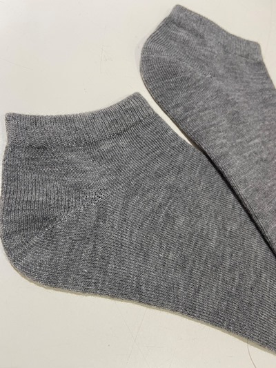Ankle Grey socks