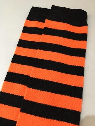 Spicy Orange Thigh High socks