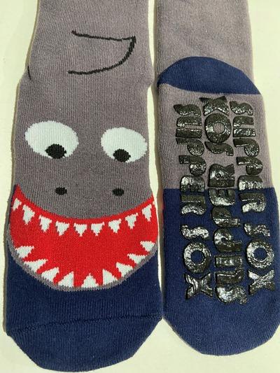 Happy Shark Non Slip socks
