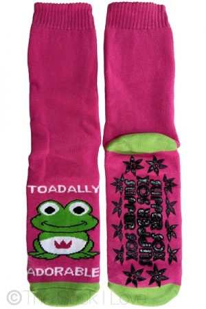 Adorable Pink Non Slip socks