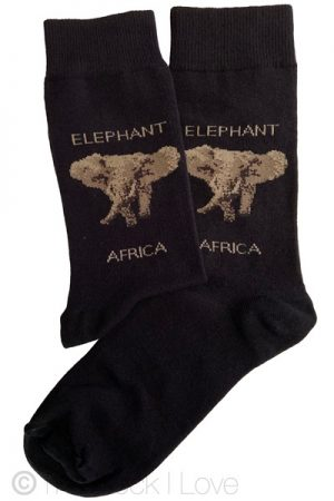 Africa Elephant socks