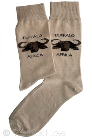 Africa Buffalo socks