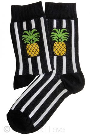 Vertical Pineapple socks