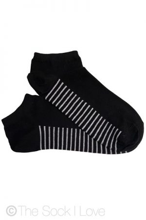 Ankle Black Striped socks