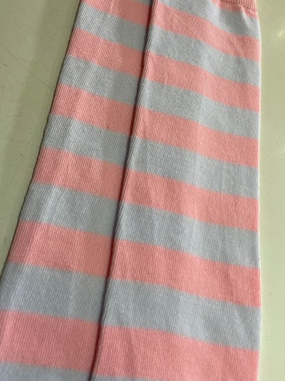Pink Flower Thigh High socks