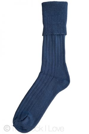 Airforce Blue Halfhose socks
