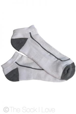 Ankle White Cloud Cushion socks