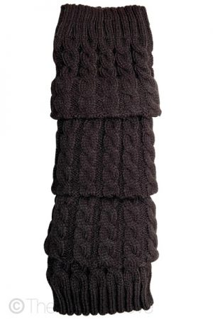 Dark Grey Legwarmers