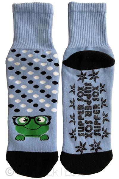 Blue Froggy Non Slip socks