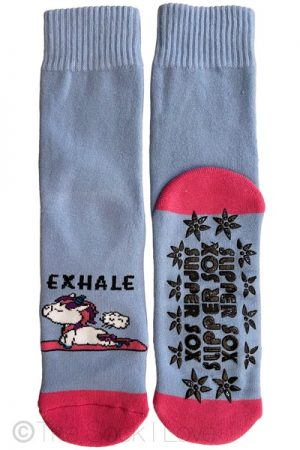 Unicorn Exhale Non Slip socks