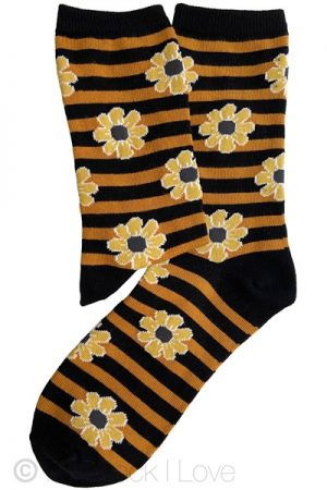 Yellow Sunflower socks